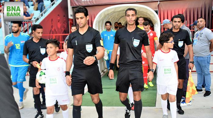Action Match Amical Tunisie - Irak