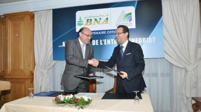 SIGNATURE DE LA CONVENTION BNA-IACE