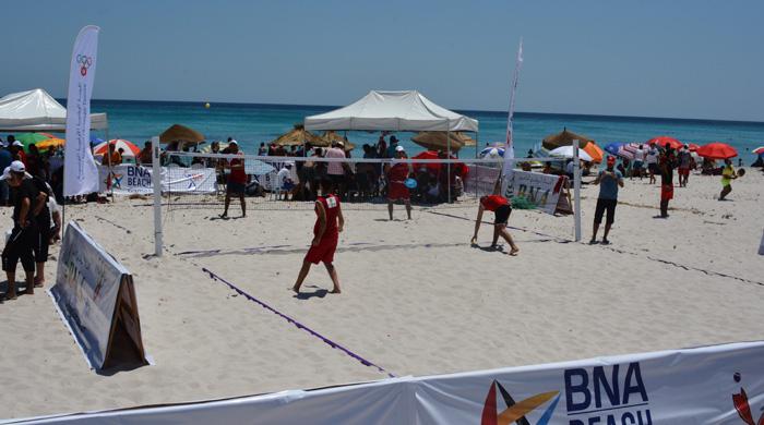 BNA BEACH GAMES KELIBIA 2015